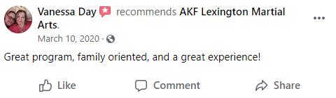 Adult1, AKF Lexington & Nicholasville's Martial Arts